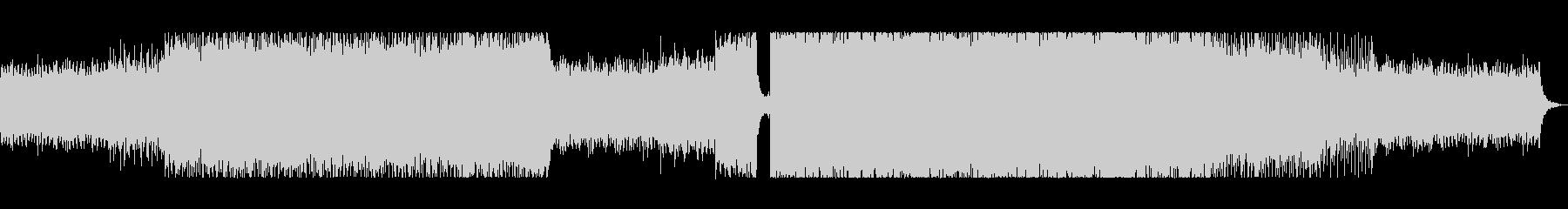 FX(効果音)なしの未再生の波形