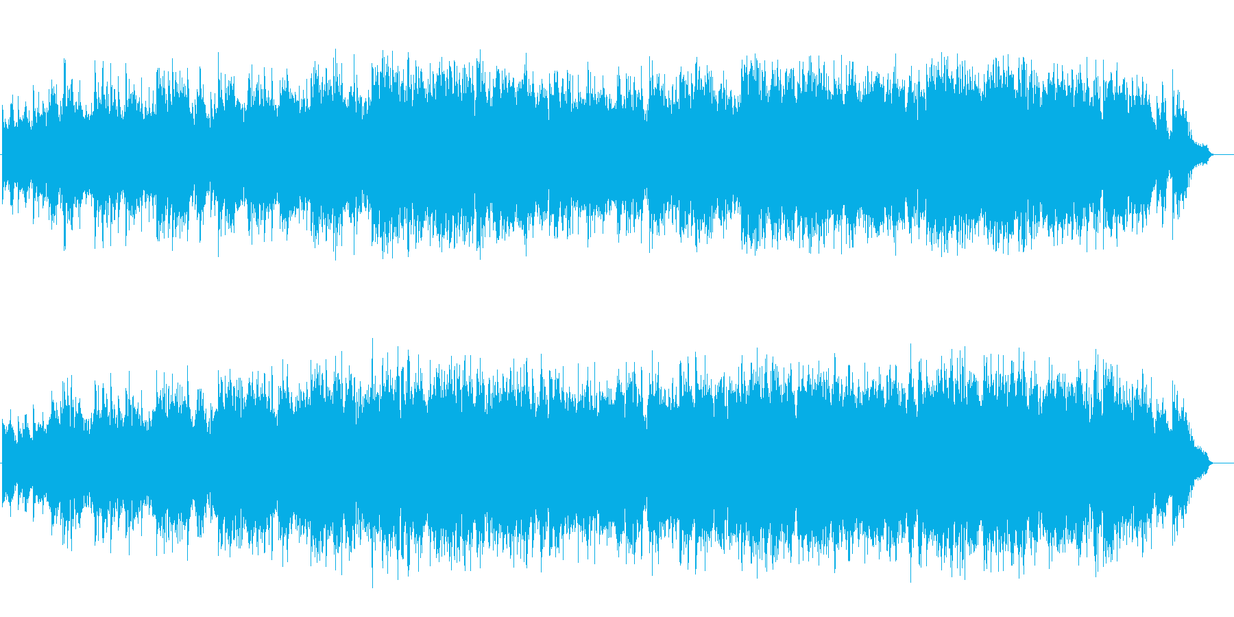 感傷的なピアノバラード(フルサイズ)の再生済みの波形