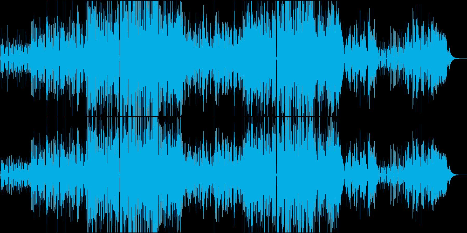 落ち込んだ時に心を落ち着かせてくれる曲の再生済みの波形