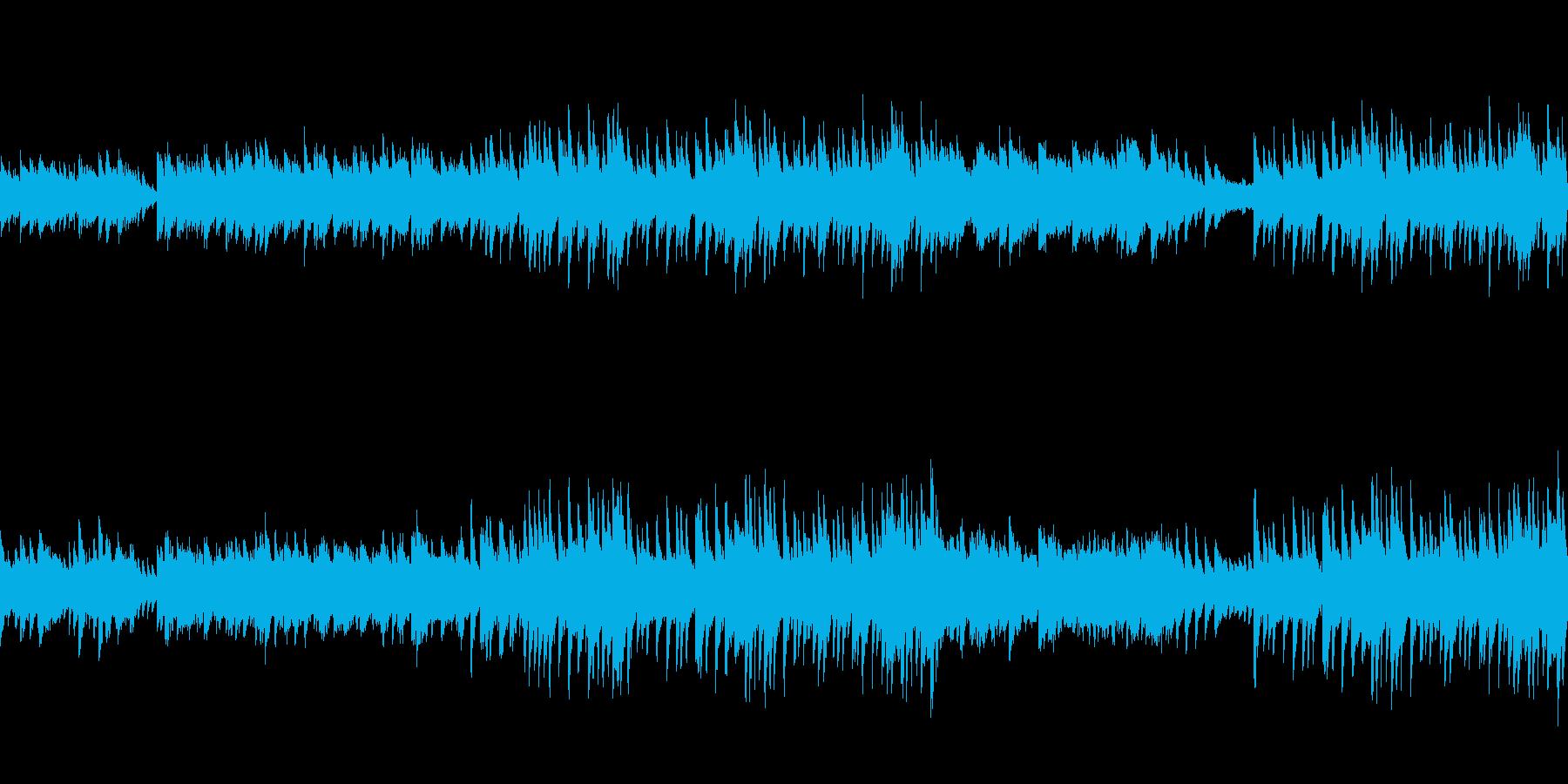 穏やかなピアノ曲4/ループ仕様の再生済みの波形