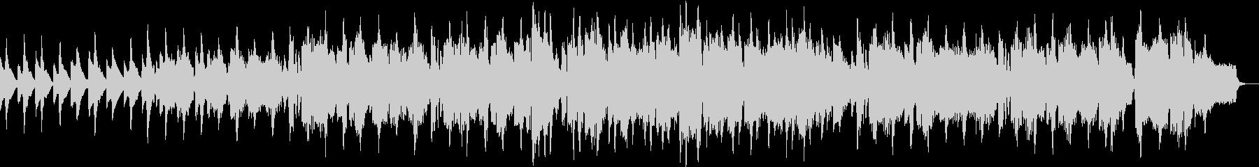 リコーダーが特徴的な中世風楽曲の未再生の波形