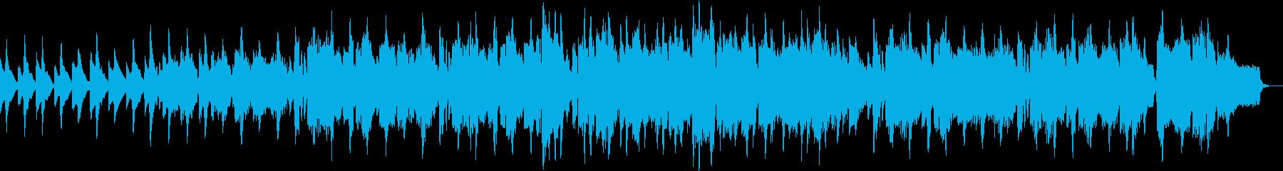 リコーダーが特徴的な中世風楽曲の再生済みの波形