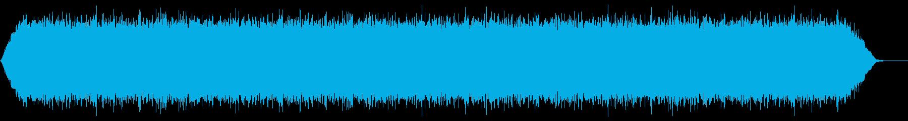 【アンビエント】ドローン_47 実験音の再生済みの波形