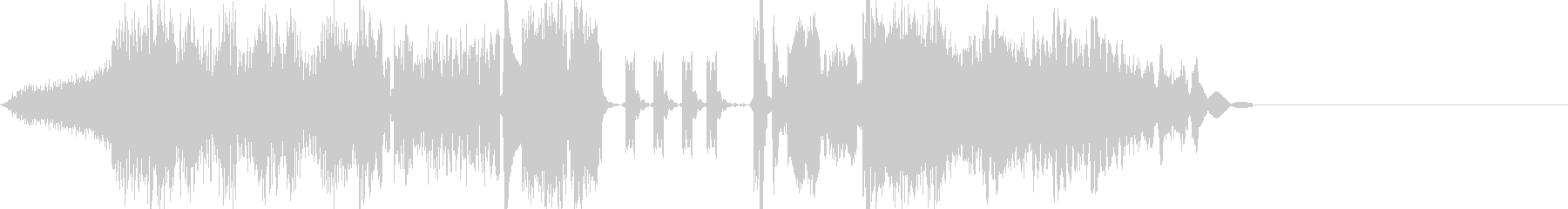 FMラジオジングル制作の効果音にピッタリの未再生の波形