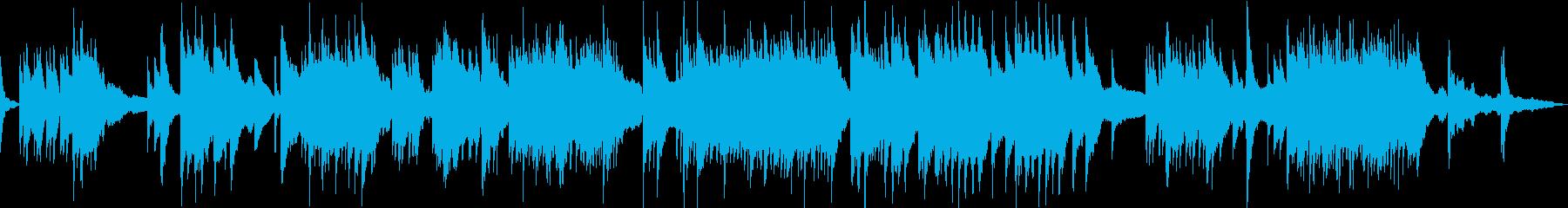 亜麻色の髪の乙女・ソフトピアノの再生済みの波形