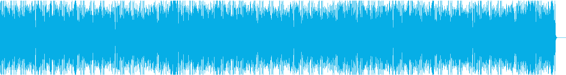 かわいいコミカルの再生済みの波形