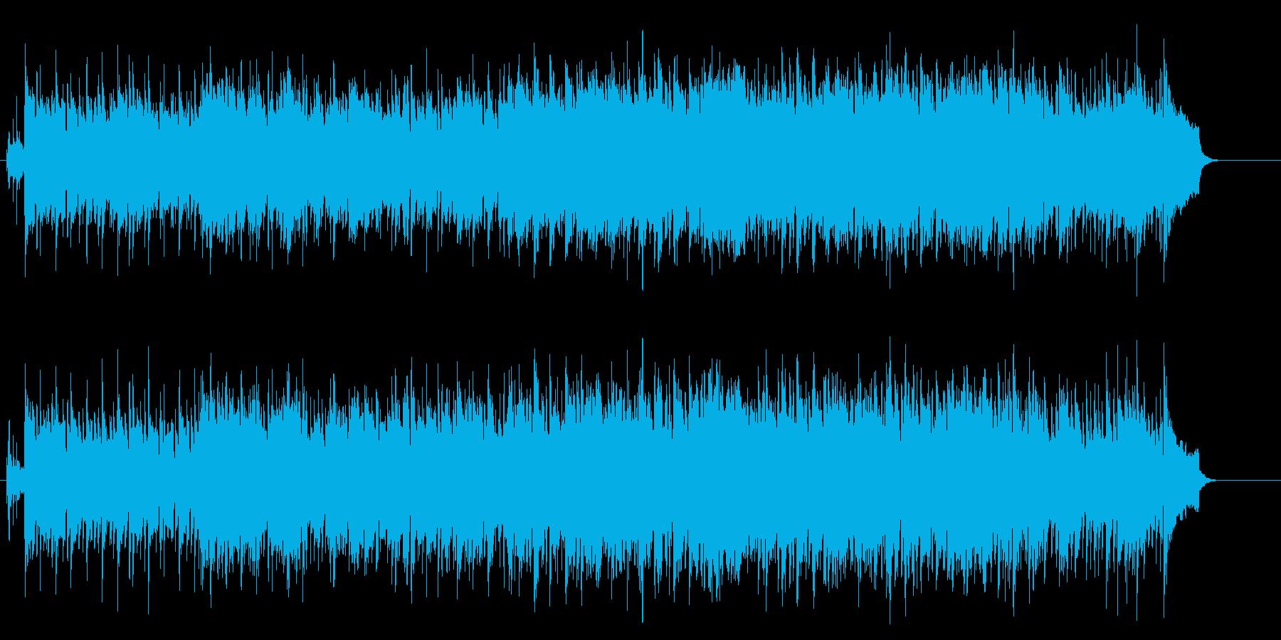 決意の切ないニューミュージック風ポップスの再生済みの波形