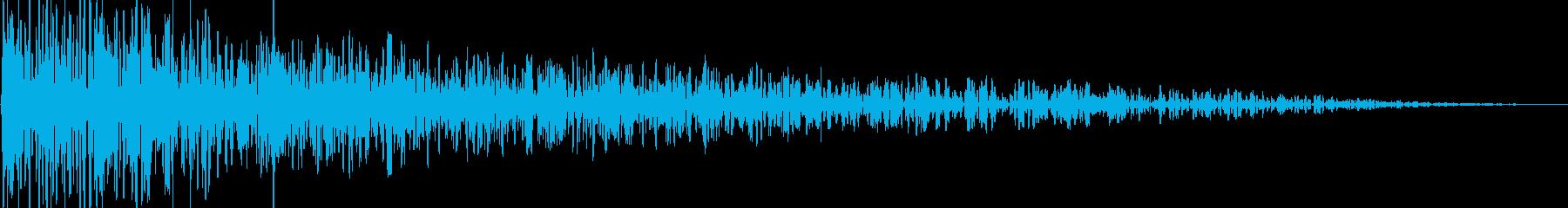 ボカーン(爆発/魔法/衝撃/レトロの再生済みの波形