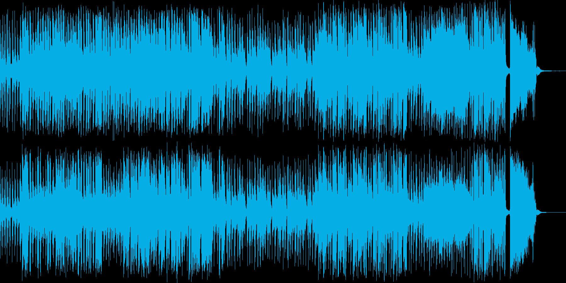 Big Bandの中でのPianoの再生済みの波形