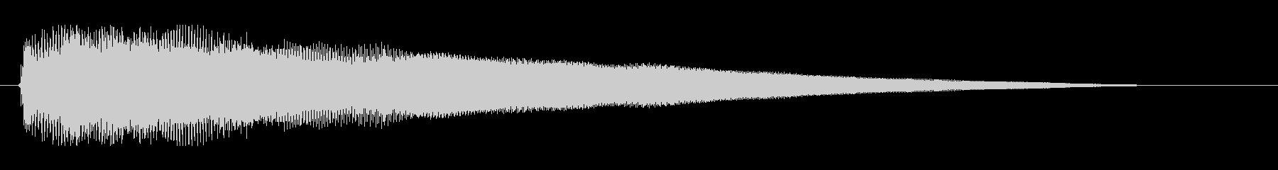 エレキギター。ジャラーン。の未再生の波形