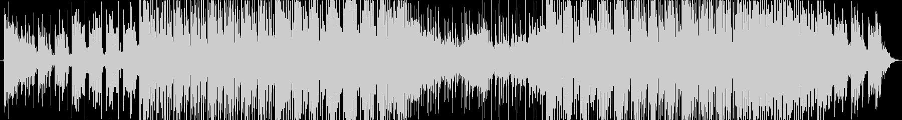シンセピアノ広告向け切ないハウストラックの未再生の波形