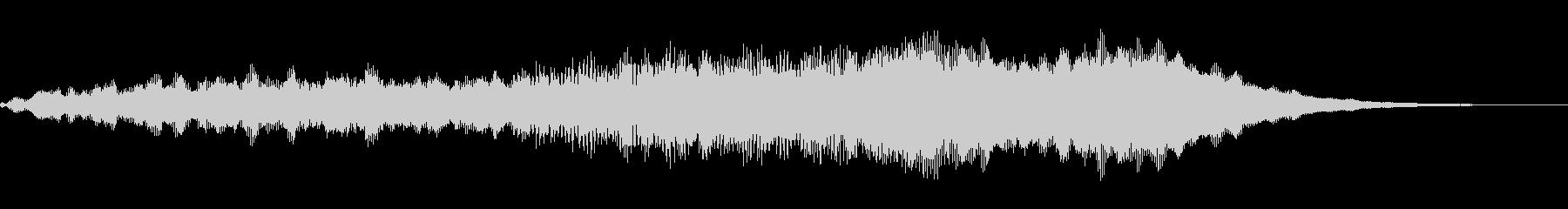 スパークリーシンセトーンの未再生の波形