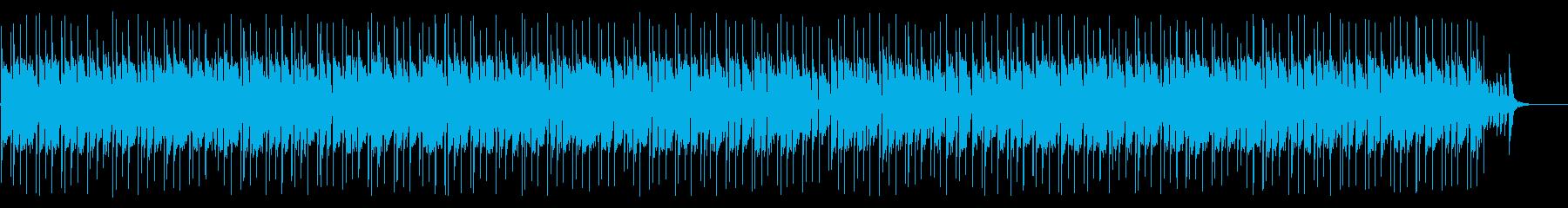常夏の南国リゾートな曲の再生済みの波形
