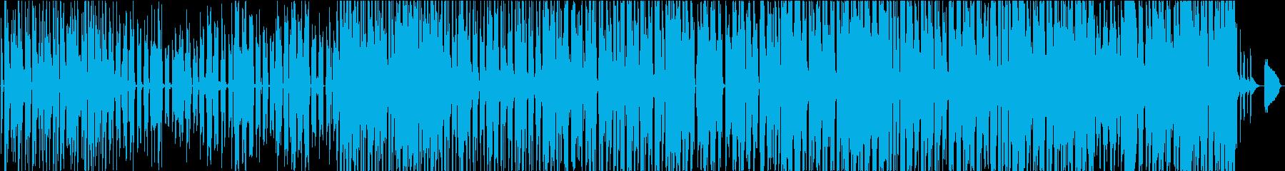水と泡の再生済みの波形