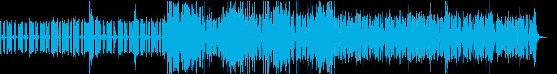 急いでるシーンや潜入した時に流れる曲の再生済みの波形