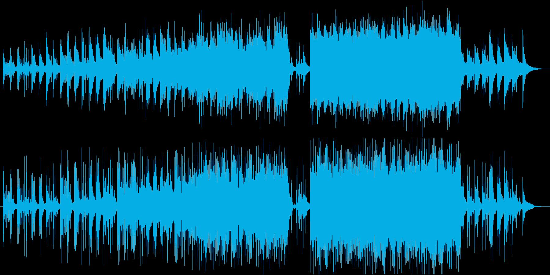ピアノの旋律が印象的なバラード3の再生済みの波形
