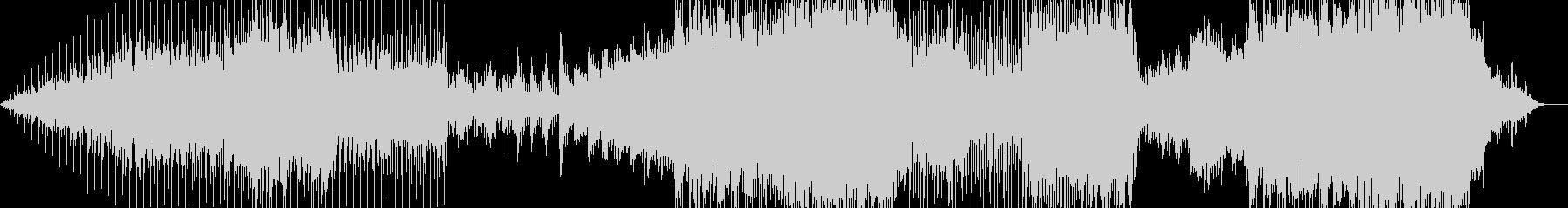 オーソドックスな感じのポップインストの未再生の波形