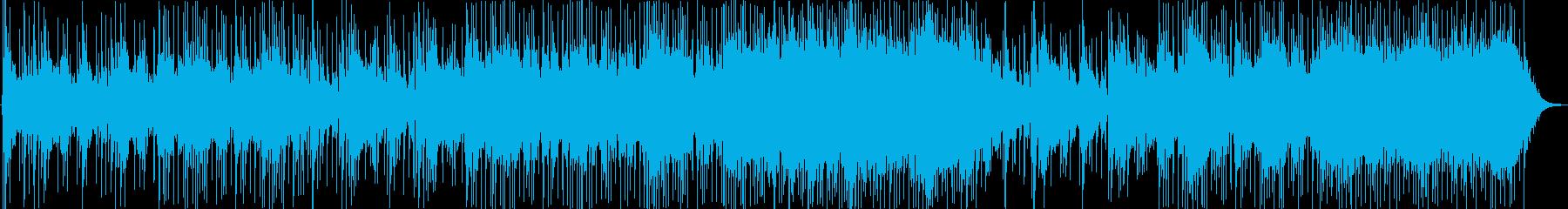 軽い、心地よい音響。アコースティッ...の再生済みの波形