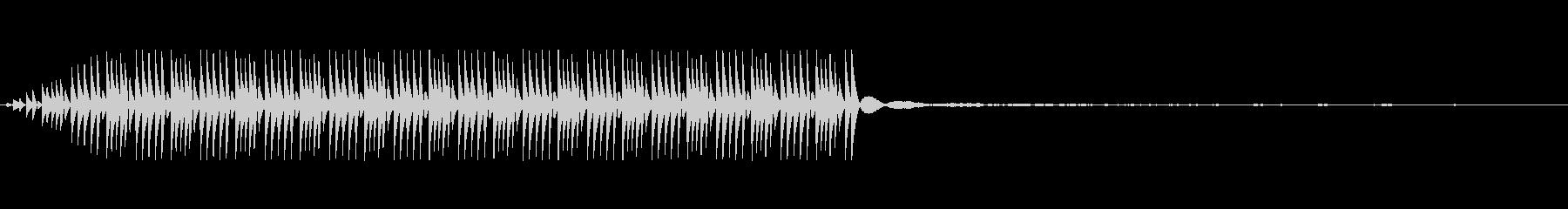 拒否,NG(8bit風)の未再生の波形