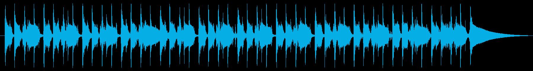 使いやすいファンク 30秒ギター無し版の再生済みの波形