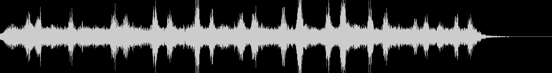 宇宙の映像のBGMに適した曲の未再生の波形