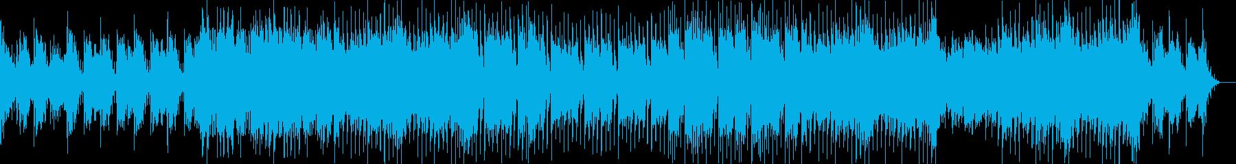 ポップバラードの再生済みの波形
