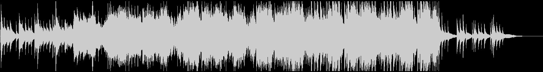 琴と尺八がメインの和風バラードの未再生の波形