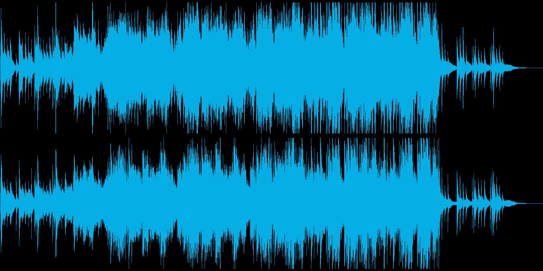 琴と尺八がメインの和風バラードの再生済みの波形