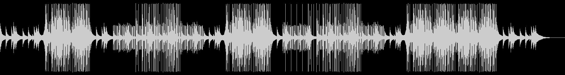 メロディックな洋楽トラップビートの未再生の波形