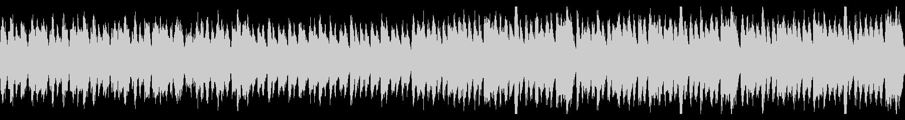 オーケストラ楽器構成のハロウィーン曲の未再生の波形