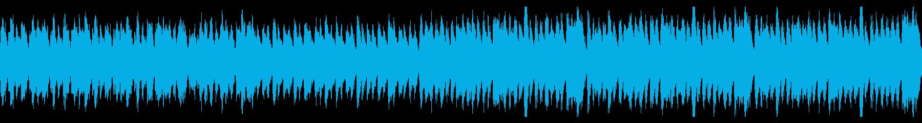 オーケストラ楽器構成のハロウィーン曲の再生済みの波形