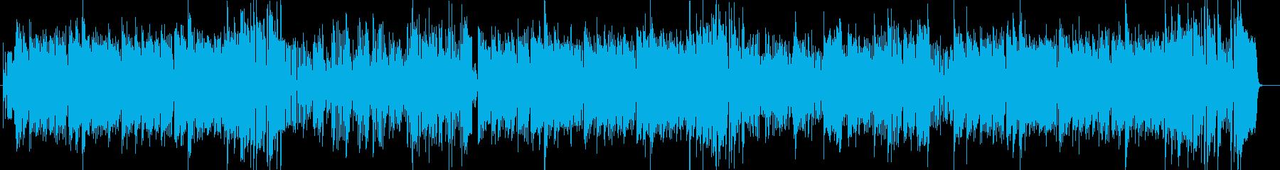 軽快なモダンジャズ ハードバップ系の再生済みの波形