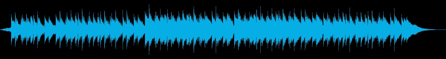 企業映像 ショートドラム無 感動CMの再生済みの波形