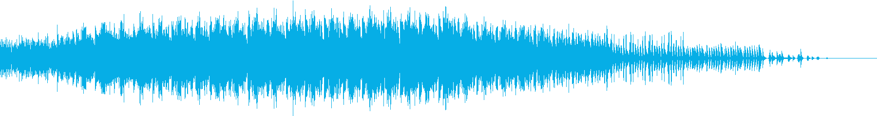 静かな森で息衝くものを表現したミニマル。の再生済みの波形