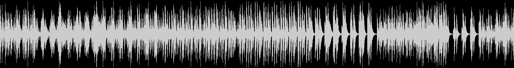 春のほのぼのとしたピチカート曲 ループの未再生の波形