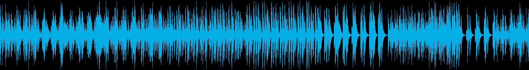 春のほのぼのとしたピチカート曲 ループの再生済みの波形