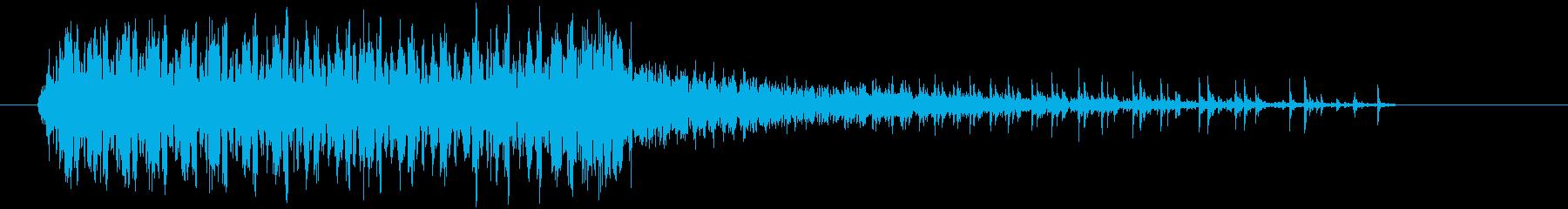 ブルサード:アイドル/オフインテリ...の再生済みの波形
