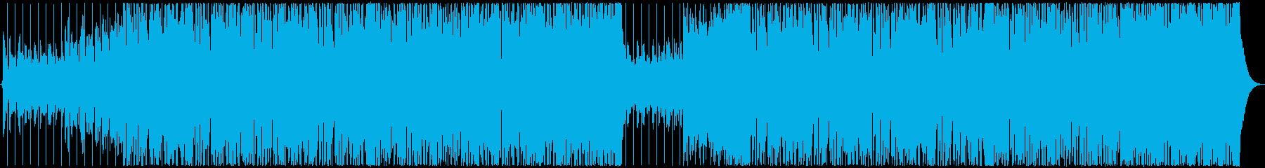【メロなし】明るいフューチャーベースの再生済みの波形
