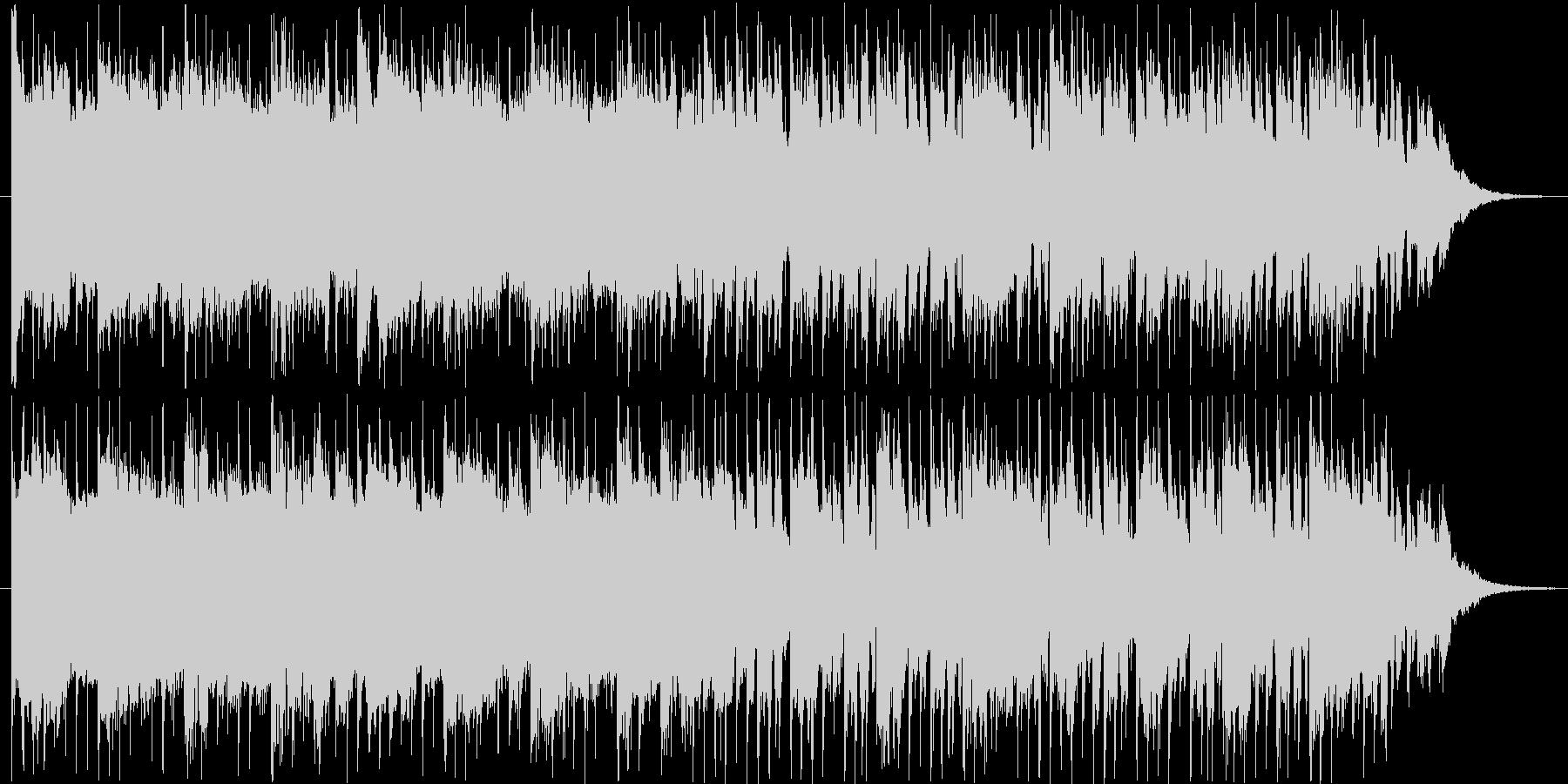 近未来的なBGM(60ver)の未再生の波形