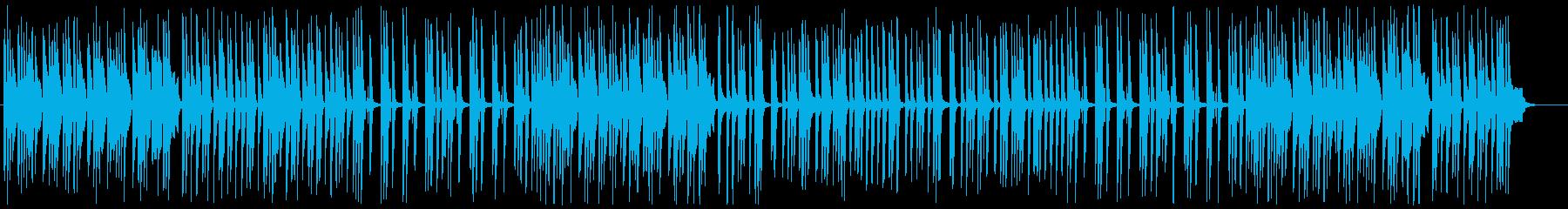 ピアノとマリンバの可愛いアコースティックの再生済みの波形