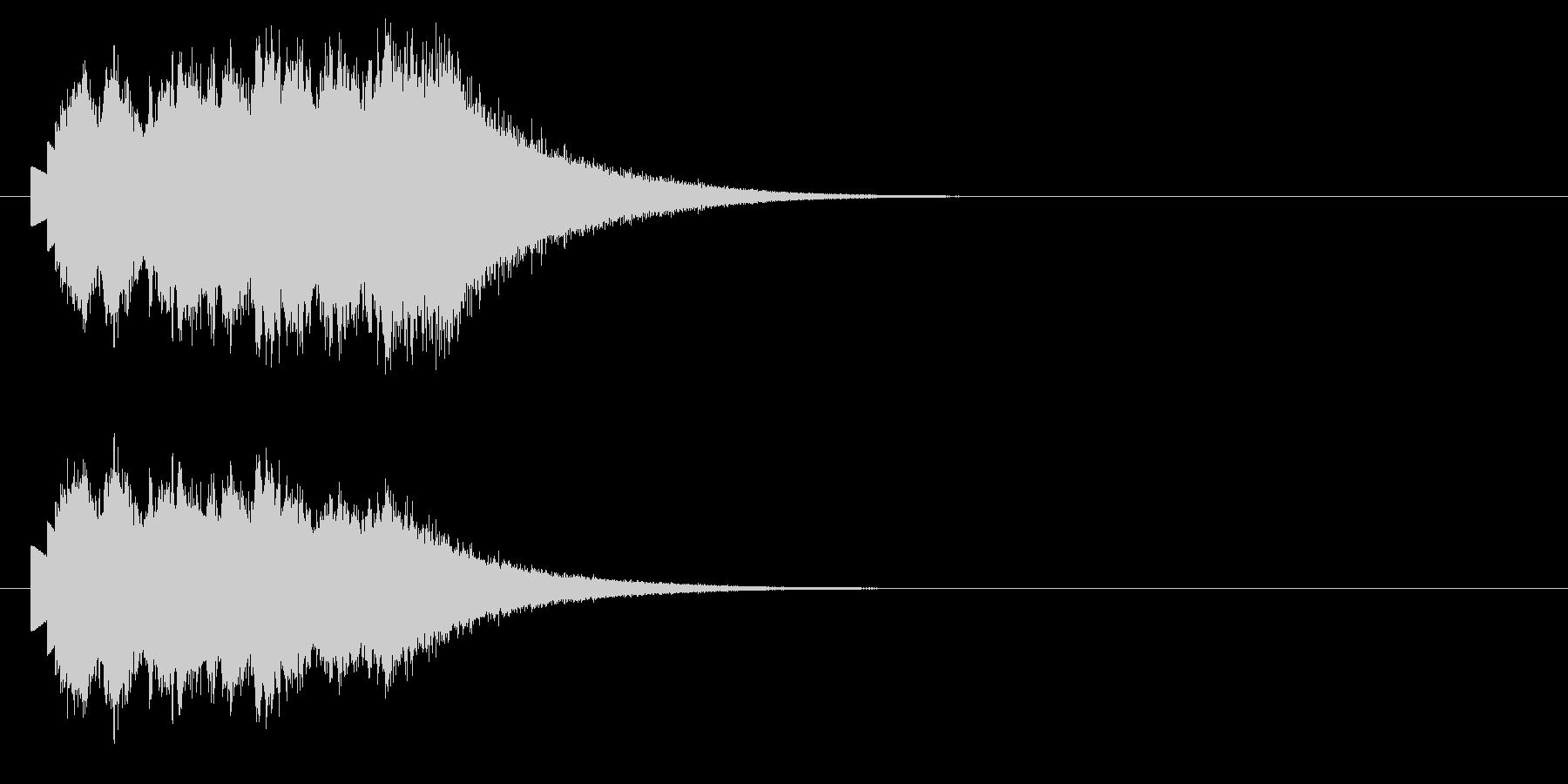 マジカルグリス;ベルグリスの降順。の未再生の波形