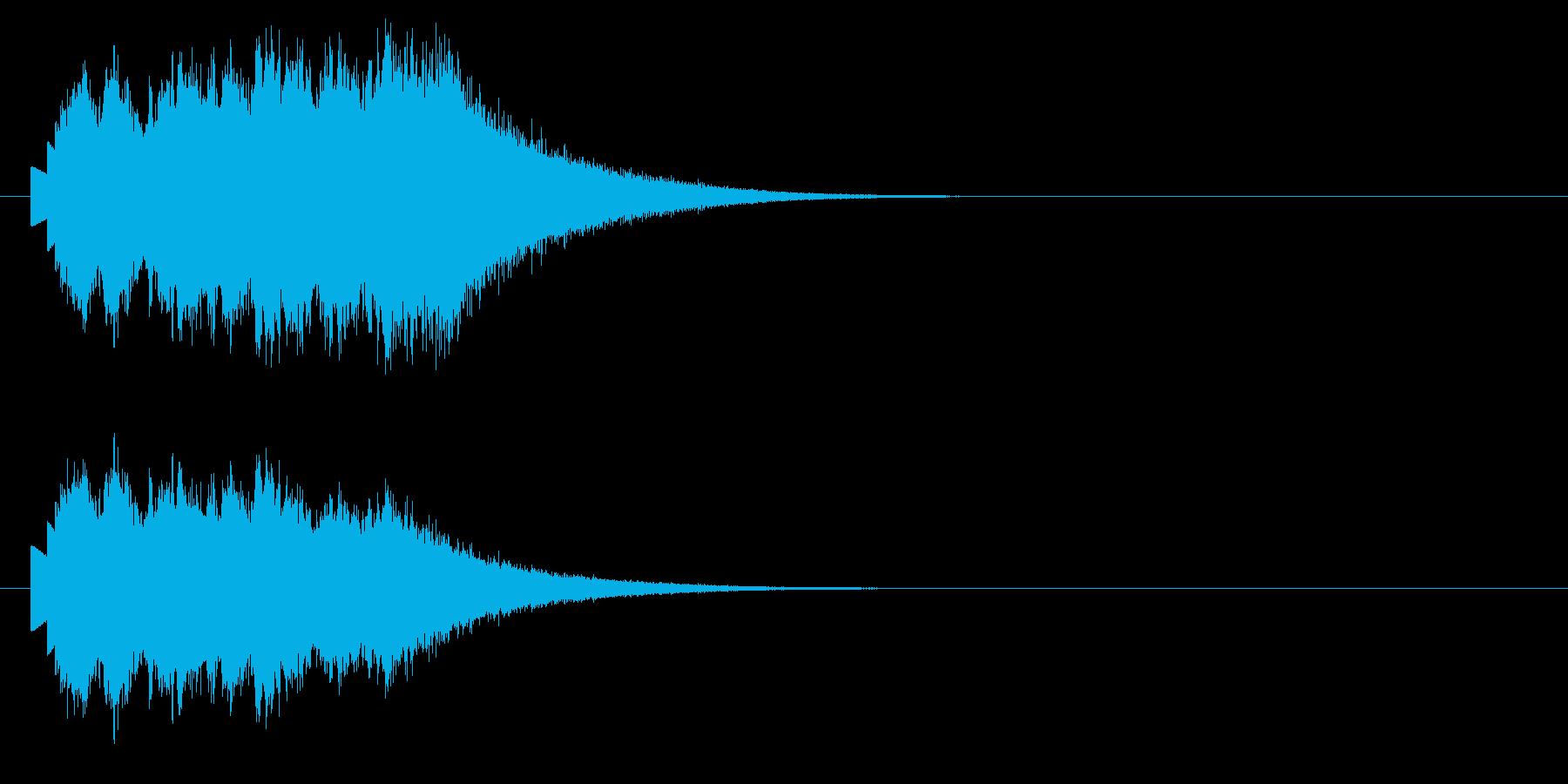 マジカルグリス;ベルグリスの降順。の再生済みの波形