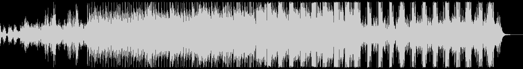 清々しいイメージのエレクトロポップの未再生の波形
