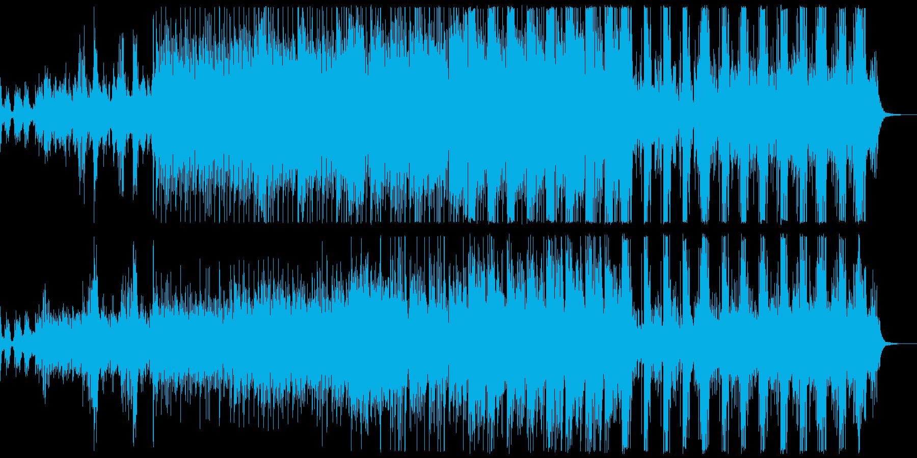 清々しいイメージのエレクトロポップの再生済みの波形