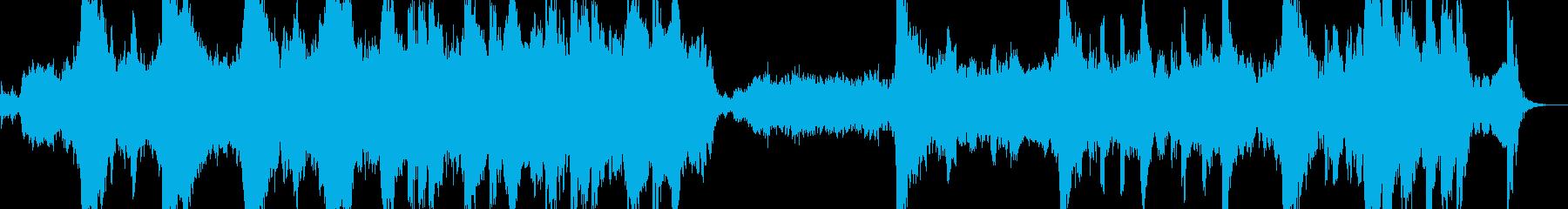 壮大で爽やかな曲調のエピックオーケストラの再生済みの波形