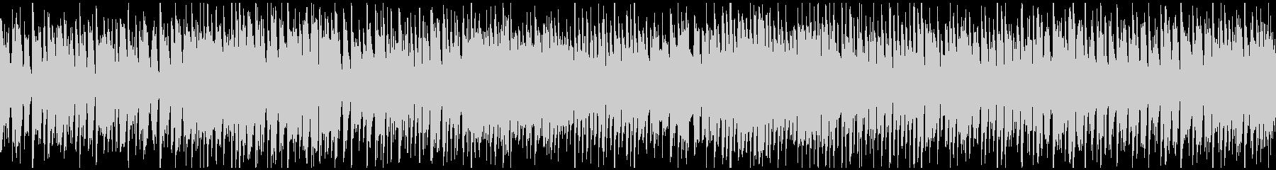 リコーダーの楽しいバラエティ曲※ループ版の未再生の波形