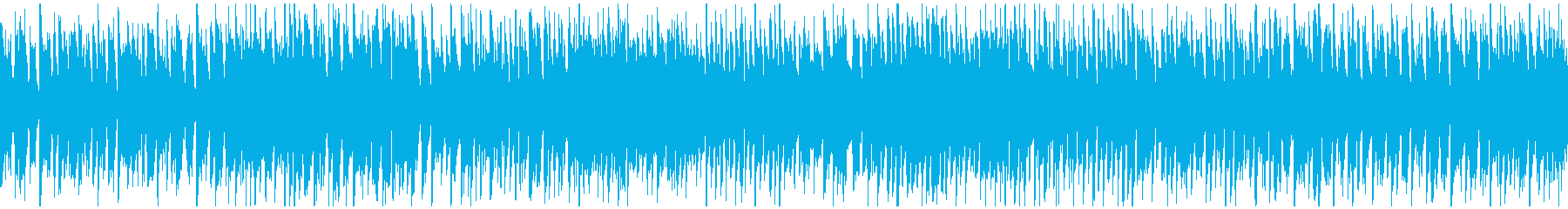 リコーダーの楽しいバラエティ曲※ループ版の再生済みの波形