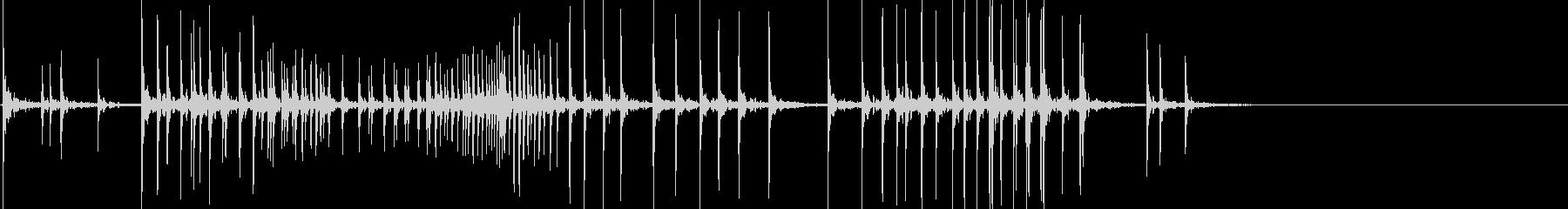 ホラー音(ギギギギ)の未再生の波形