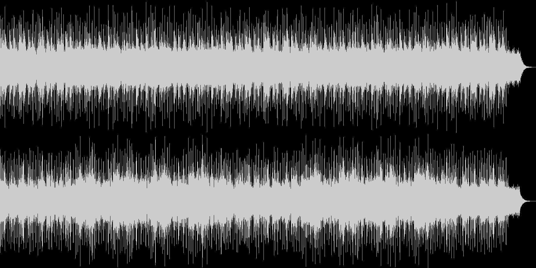 キレイな響きのリラクゼーション曲の未再生の波形