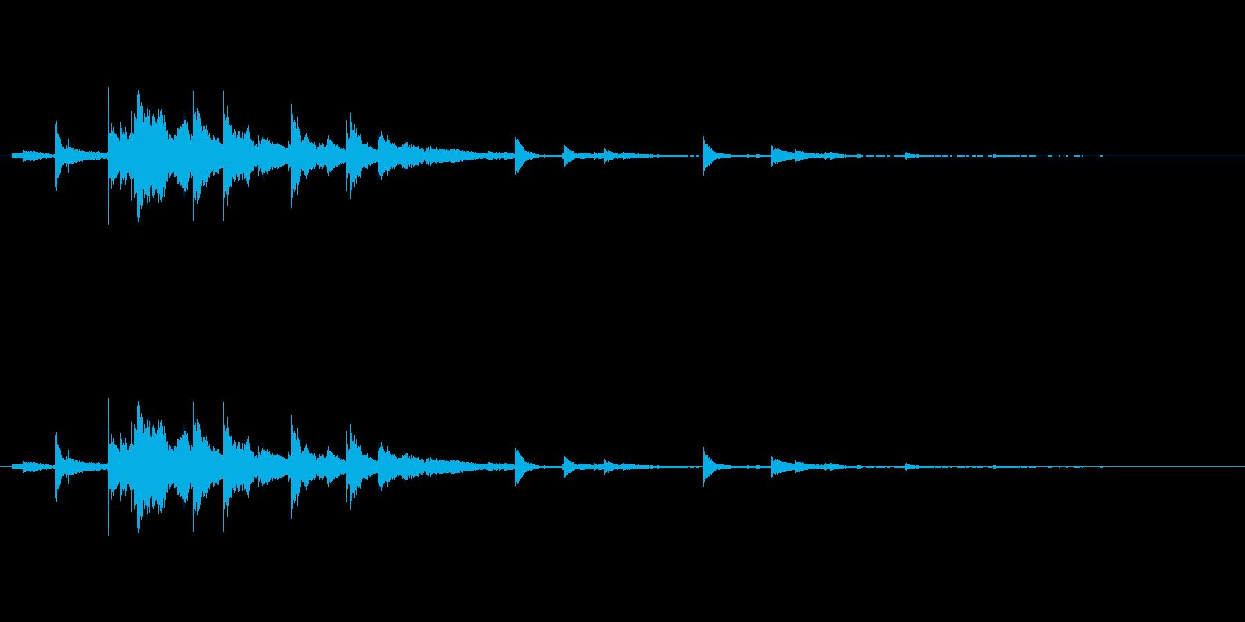 メタル 風鈴09の再生済みの波形